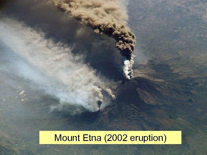 Mount Etna (2002 eruption)