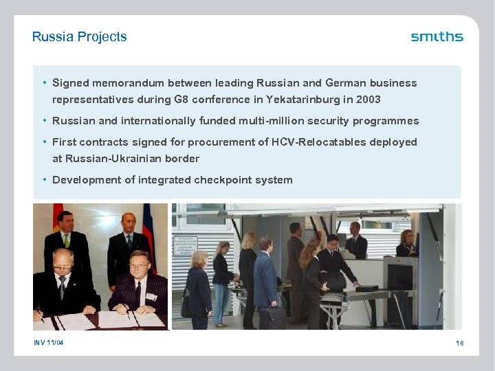 Russia Projects • Signed memorandum between leading Russian and German business representatives during G