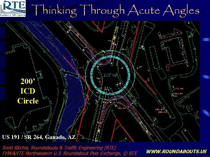 Thinking Through Acute Angles 200' ICD Circle US 191 / SR 264, Ganado, AZ