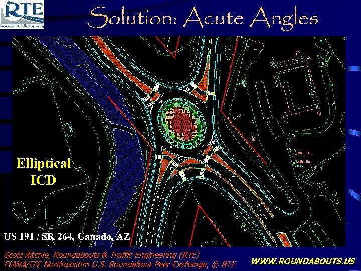 Solution: Acute Angles Elliptical ICD US 191 / SR 264, Ganado, AZ Scott Ritchie,