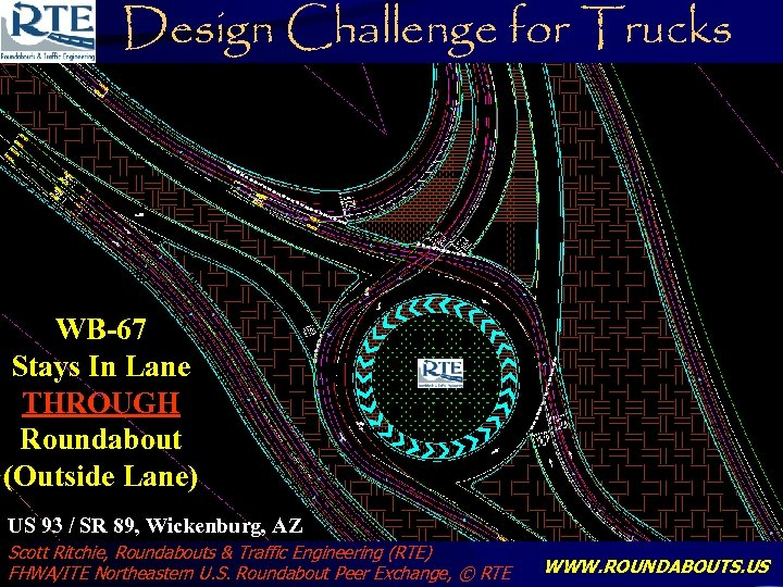 Design Challenge for Trucks Wickenburg US 93/SR 89 STAYING IN LANE ALL THE WAY