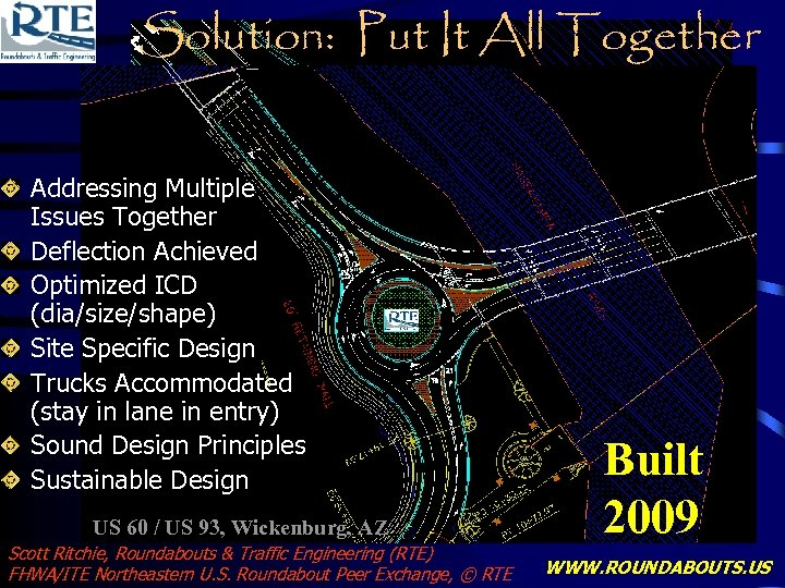 Solution: Put It All Together Addressing Multiple Issues Together Deflection Achieved Optimized ICD (dia/size/shape)