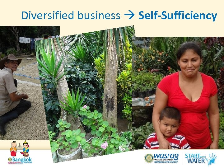Diversified business Self-Sufficiency