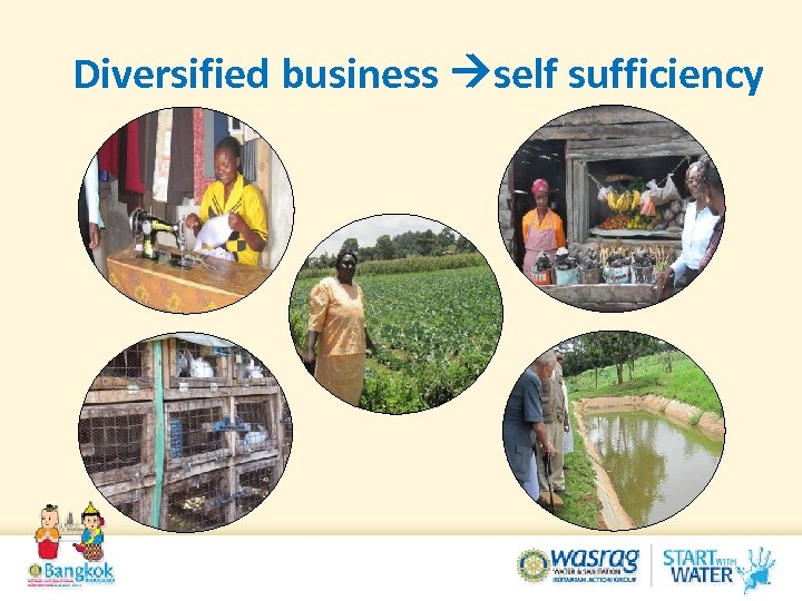 Diversified business self sufficiency