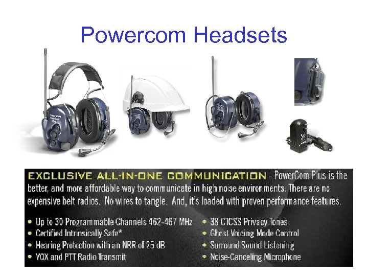 Powercom Headsets