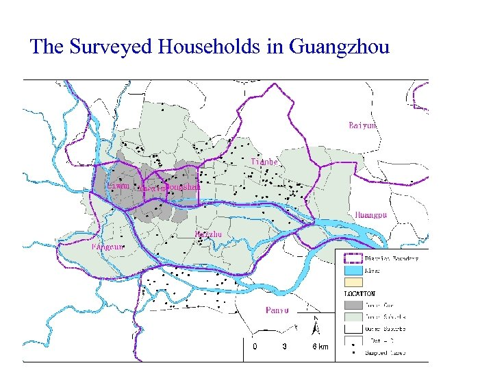 The Surveyed Households in Guangzhou
