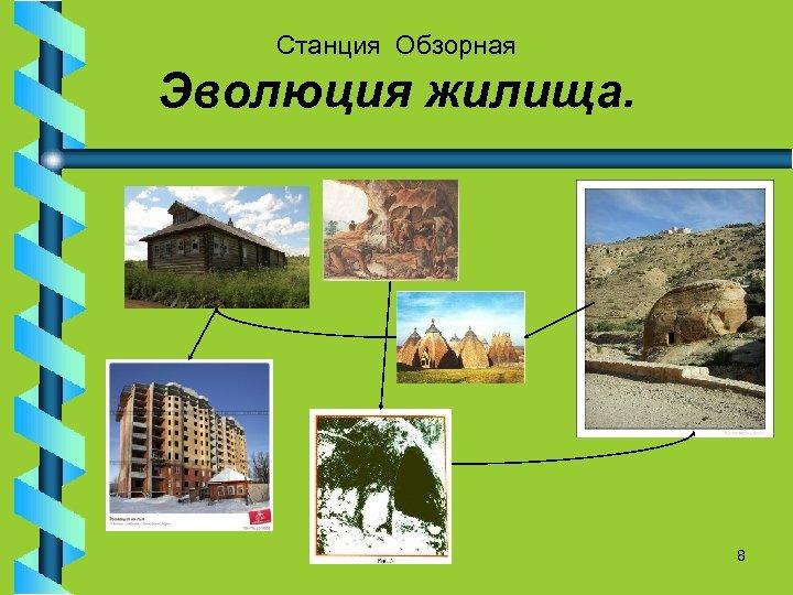 Станция Обзорная Эволюция жилища. 8
