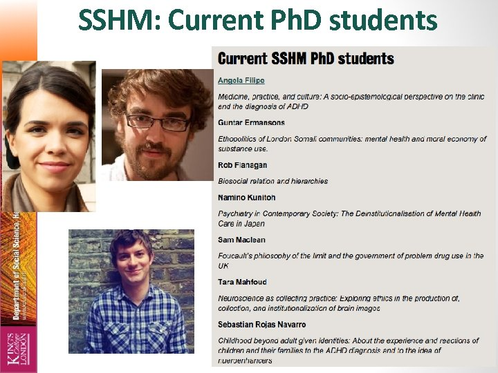 SSHM: Current Ph. D students 7