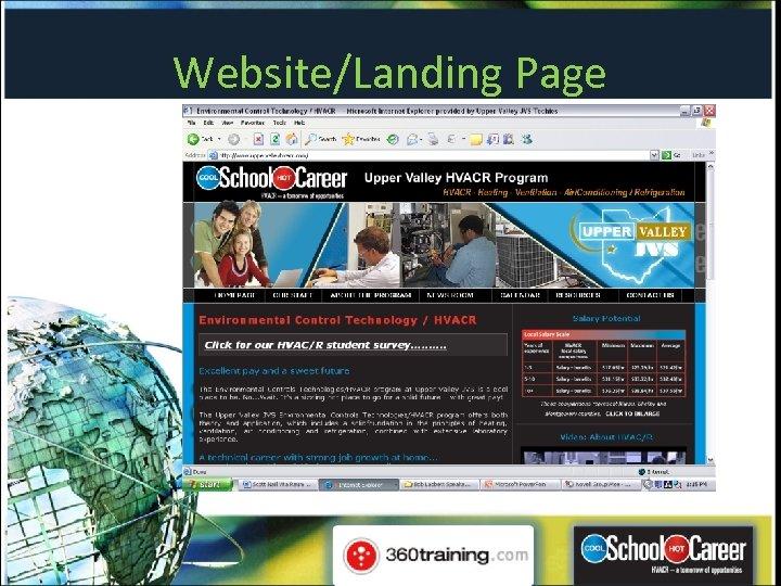 Website/Landing Page