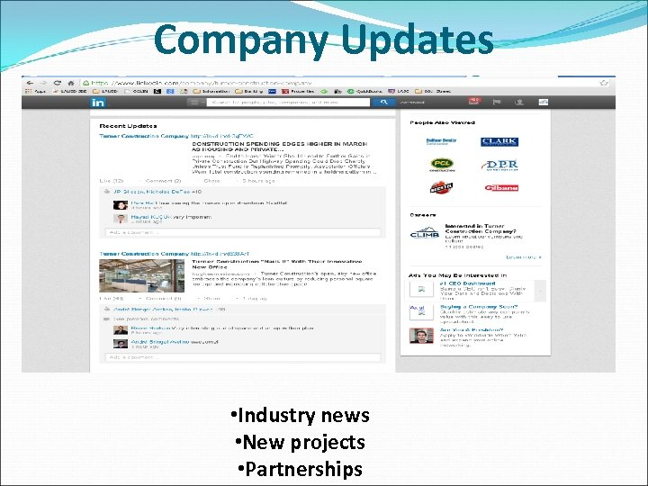 Company Updates • Industry news • New projects • Partnerships