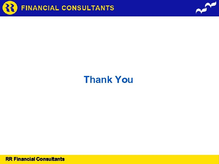 Thank You RR Financial Consultants