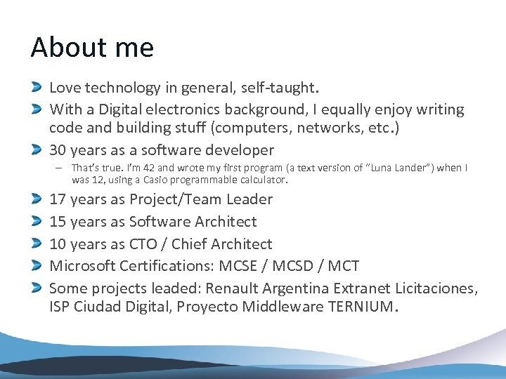About me Love technology in general, self-taught. With a Digital electronics background, I equally