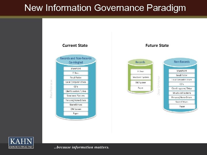 Data Universe New Information Governance Paradigm