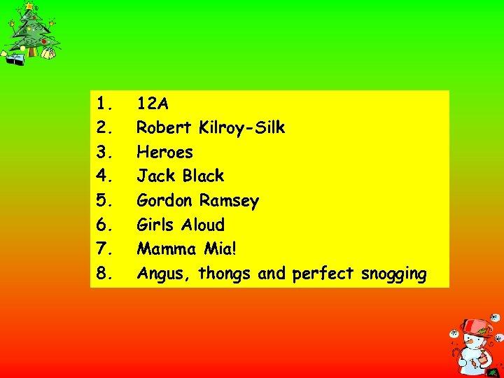 1. 2. 3. 4. 5. 6. 7. 8. 12 A Robert Kilroy-Silk Heroes Jack