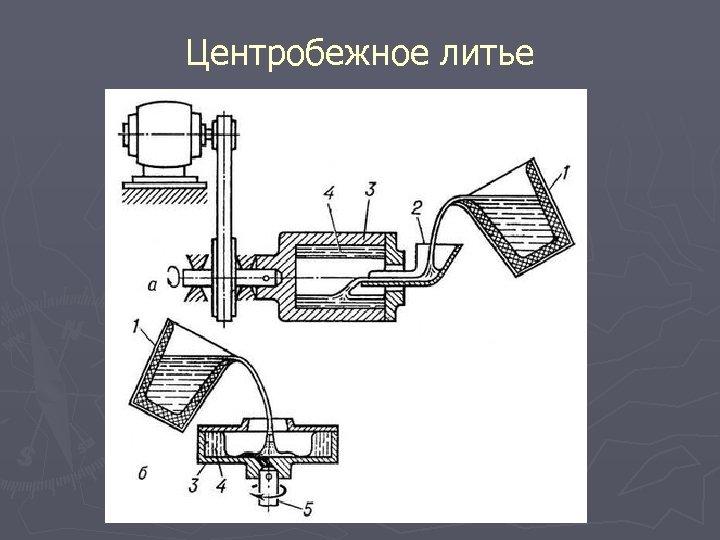 Центробежное литье