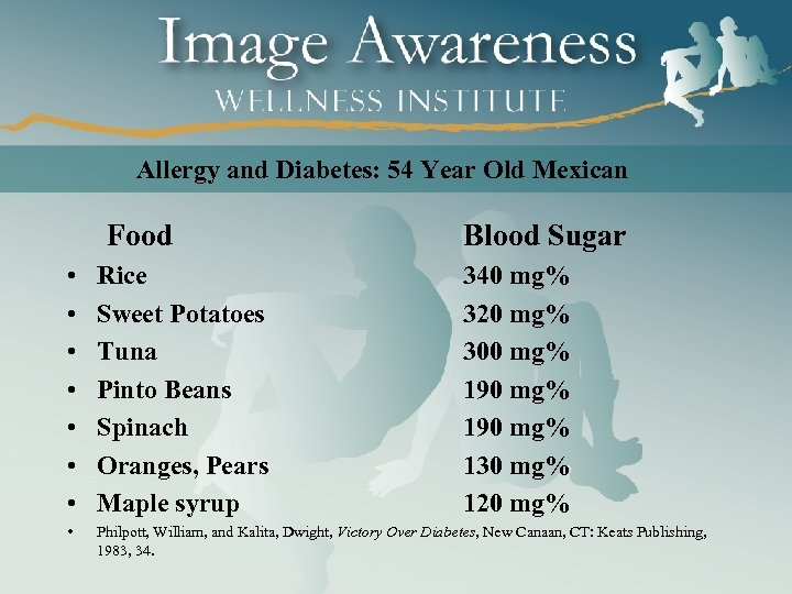 Allergy and Diabetes: 54 Year Old Mexican Food Blood Sugar • • Rice Sweet