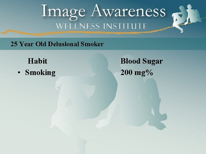 25 Year Old Delusional Smoker Habit • Smoking Blood Sugar 200 mg%