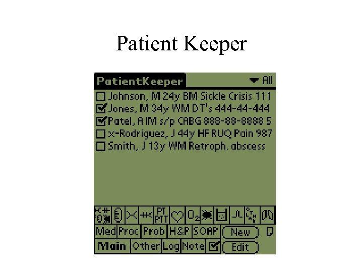 Patient Keeper