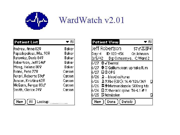 Ward. Watch v 2. 01