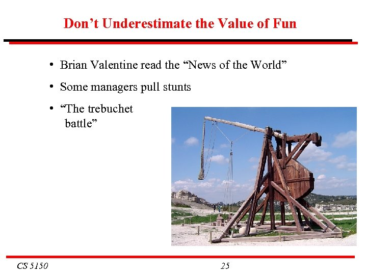 "Don't Underestimate the Value of Fun • Brian Valentine read the ""News of the"