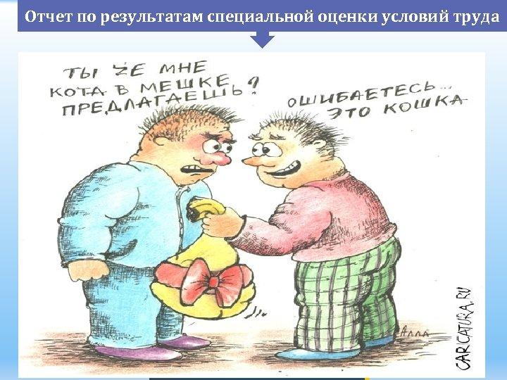 Отчет по результатам специальной оценки условий труда 1) 2) 3) 4) 5) 6) 7)