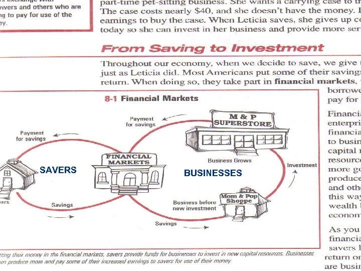 SAVERS BUSINESSES