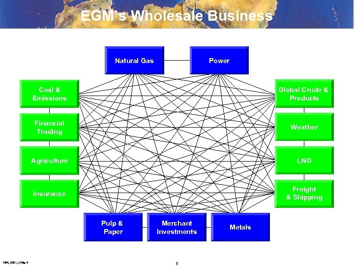 EGM's Wholesale Business Natural Gas Power Coal & Emissions Global Crude & Products Financial