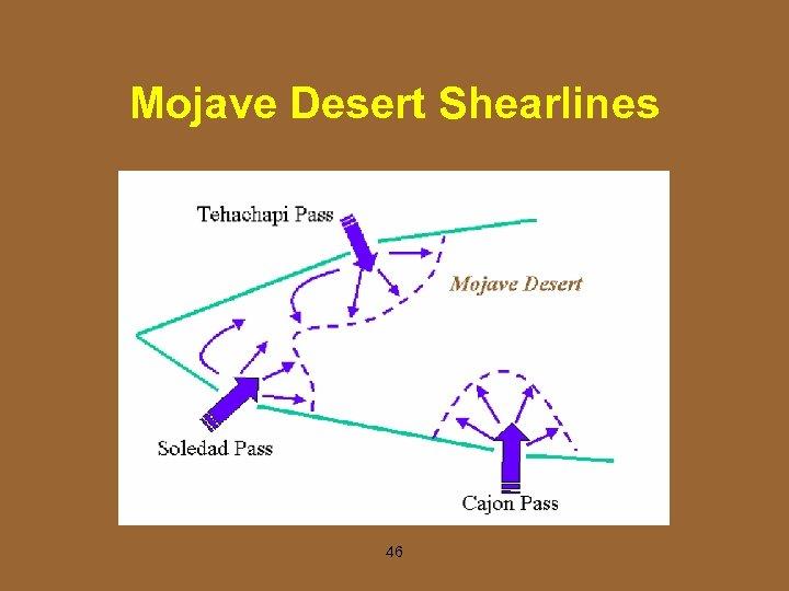Mojave Desert Shearlines 46