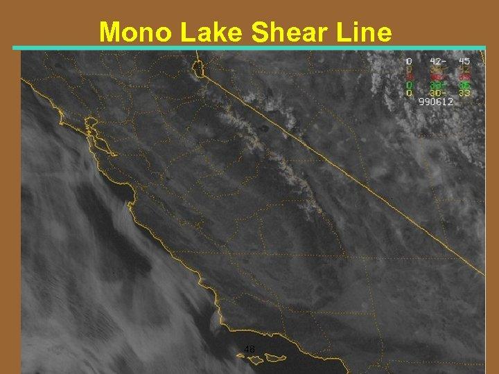 Mono Lake Shear Line 48