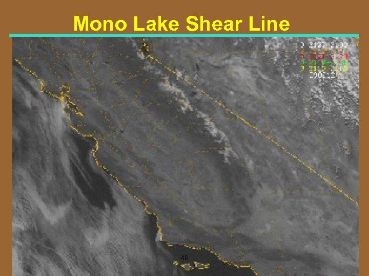 Mono Lake Shear Line 49