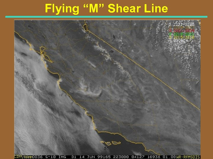 "Flying ""M"" Shear Line 51"