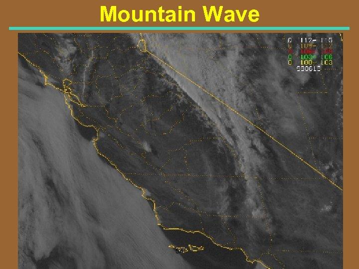 Mountain Wave 54