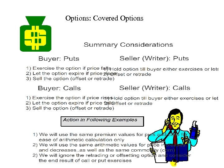 Options: Covered Options