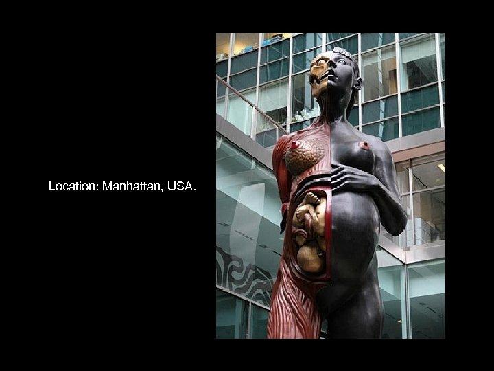 Location: Manhattan, USA.