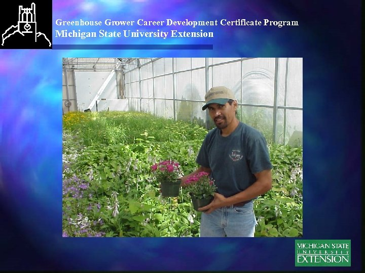 Greenhouse Grower Career Development Certificate Program Michigan State University Extension