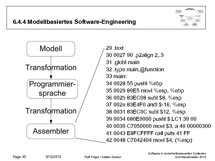 6. 4. 4 Modellbasiertes Software-Engineering 29. text 30 0027 90. p 2 align 2,