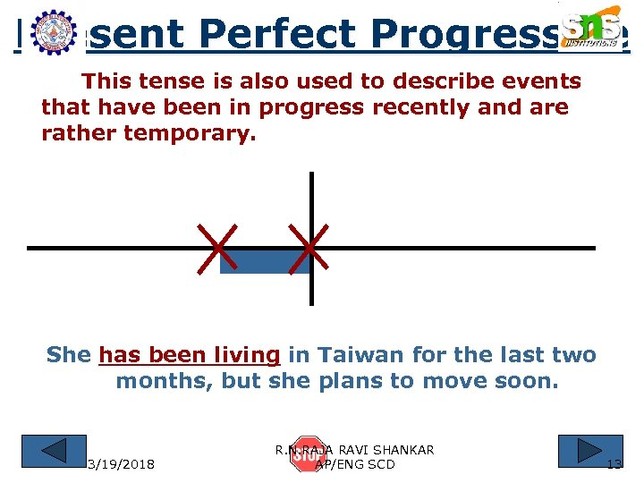 Present Perfect Progressive This tense is also used to describe events that have been