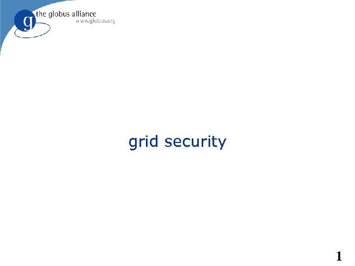 grid security 1