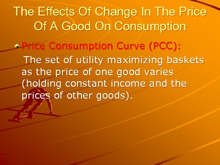 The Effects Of Change In The Price Of A Good On Consumption Price Consumption