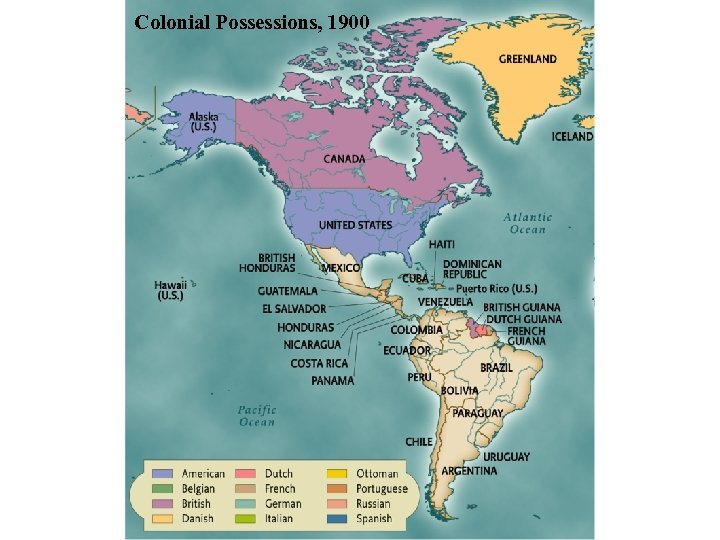 Colonial Possessions, 1900