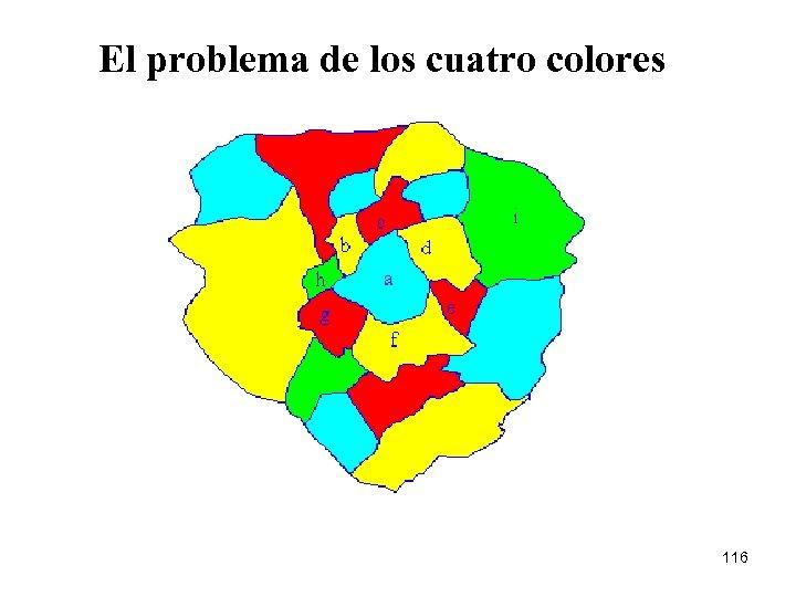 El problema de los cuatro colores 116