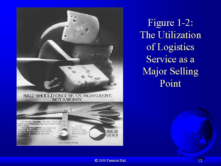 Figure 1 -2: The Utilization of Logistics Service as a Major Selling Point ©