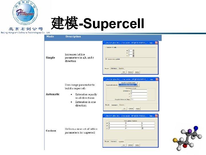 建模-Supercell