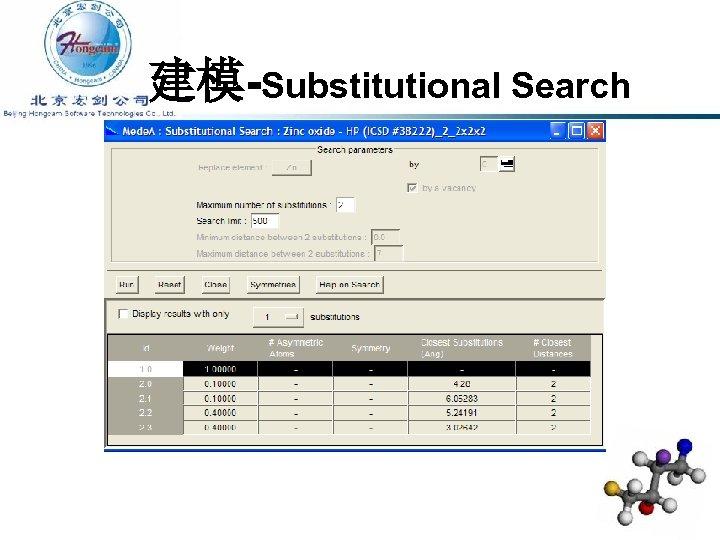 建模-Substitutional Search