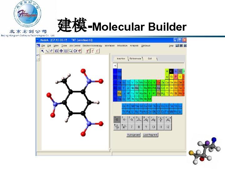 建模-Molecular Builder