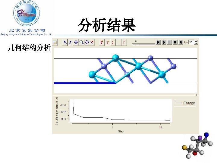 分析结果 几何结构分析