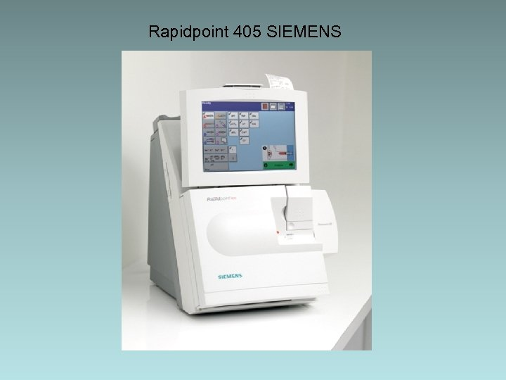 Rapidpoint 405 SIEMENS