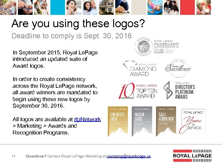 Are you using these logos? Deadline to comply is Sept. 30, 2016 In September