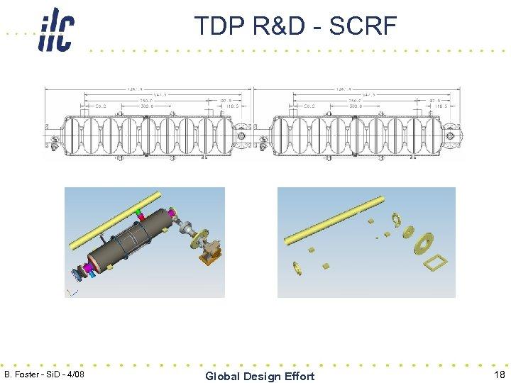 TDP R&D - SCRF B. Foster - Si. D - 4/08 Global Design Effort