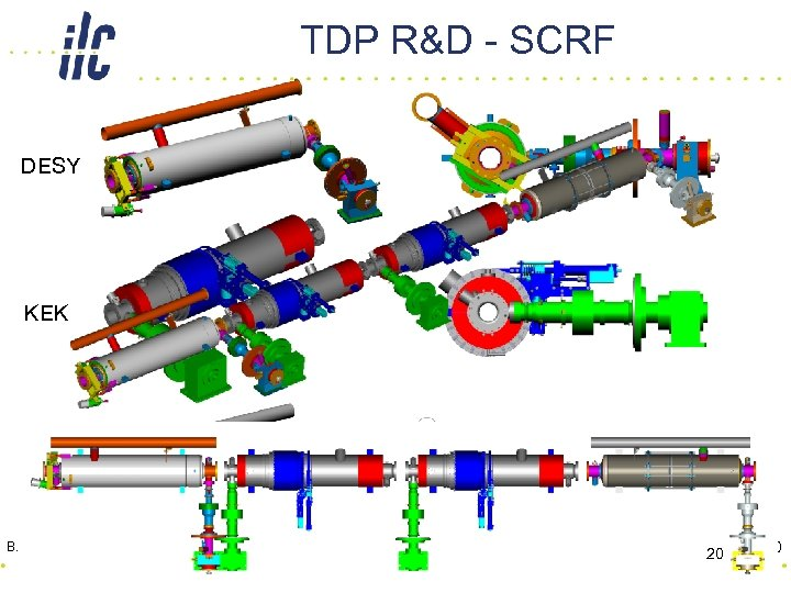 TDP R&D - SCRF DESY KEK FNAL DES B. Foster - Si. D -Y